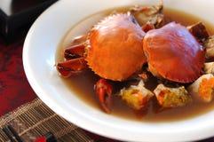 китайская кухня рака Стоковые Изображения RF
