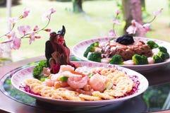 Китайская кухня Стоковая Фотография RF