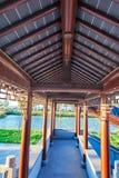 Китайская классическая архитектура - потолок Стоковые Фото