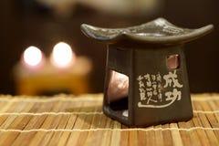Китайская масляная горелка стоковые изображения rf