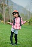 Китайская милая девушка Стоковые Изображения RF