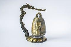Китайская миниатюра колокола виска стоковая фотография