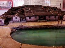 китайская миниатюра дома стоковые изображения