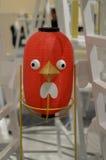 Китайская модель птицы фонариков Стоковые Фотографии RF