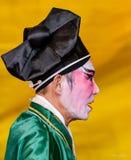Китайская опера, актеры в представлении Стоковая Фотография RF