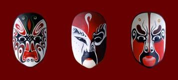 китайская опера маски Стоковое Изображение