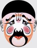 китайская опера стороны иллюстрация вектора