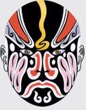 китайская опера стороны иллюстрация штока
