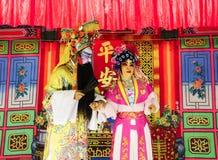 Китайская опера, Таиланд стоковое изображение