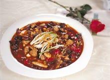 Китайская очень вкусная еда Стоковые Фото