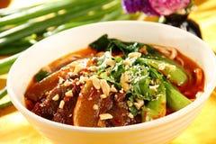 Китайская очень вкусная еда Стоковое Изображение
