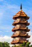 Китайская пагода в Таиланде Стоковое Изображение RF
