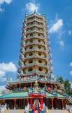 Китайская пагода стоковые изображения rf