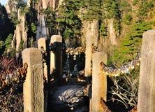 Китайская платформа просмотра замка влюбленности Стоковая Фотография RF