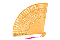 китайская рука вентилятора Стоковое Фото