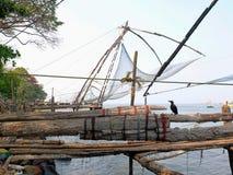 Китайская рыболовная сеть Стоковая Фотография RF