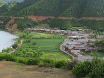 китайская сельская местность Стоковое фото RF