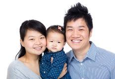 китайская семья стоковая фотография