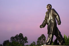китайская скульптура руководителя Стоковая Фотография RF