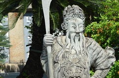 китайская скульптура бога стоковые фото