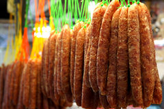 китайская сосиска Стоковые Фотографии RF