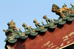 Китайская старая архитектура Стоковая Фотография RF