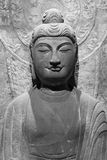 Китайская старая статуя Будды Стоковое Изображение