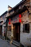 китайская старая улица Стоковая Фотография RF