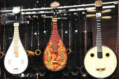 Китайская стародедовская музыкальная аппаратура стоковое фото