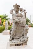 Китайская статуя бога, как музыкант Стоковые Фото