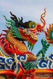 китайская статуя дракона Стоковые Изображения RF