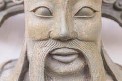 Китайская статуя попечителя в watpho Стоковое Изображение