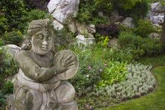 китайская статуя сада Стоковая Фотография RF