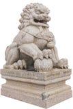 китайская статуя льва Стоковые Фото