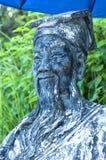 Китайская статуя 01 Стоковое Изображение RF