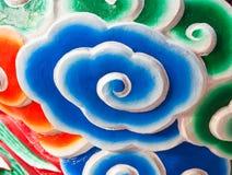 китайская стена виска картины облака Стоковые Изображения