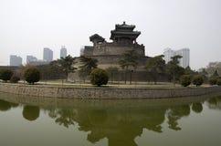 Китайская стена Handan города стоковые изображения rf