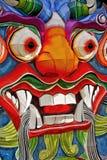 китайская сторона дракона Стоковое Изображение RF