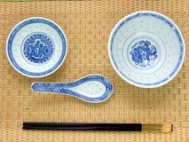 китайская таблица установки традиционная Стоковая Фотография