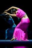китайская танцулька dai этническая Стоковое Изображение RF