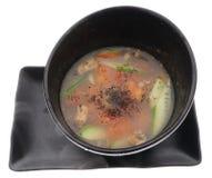 китайская тарелка китайская еда горячий суп кислый Стоковые Фото