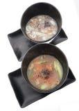 китайская тарелка китайская еда Суп Стоковые Изображения