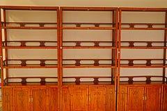Китайская традиционная деревянная мебель стоковая фотография