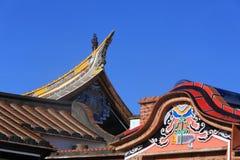 Китайская традиционная архитектура в Тайване Стоковая Фотография