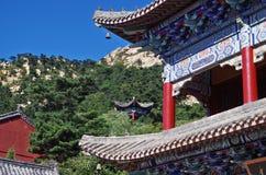 Китайская традиционная архитектура Стоковое Изображение RF