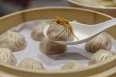 Китайская тусклая сумма - Xiaolongbao Стоковые Фото