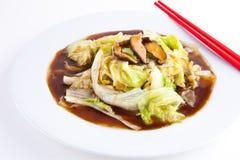 китайская устрица sauce1 салата Стоковые Изображения