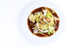 китайская устрица sauce10 салата Стоковое Изображение