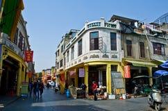 Китайская улица еды Стоковые Фото