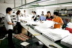 китайская фабрика часов Стоковая Фотография RF